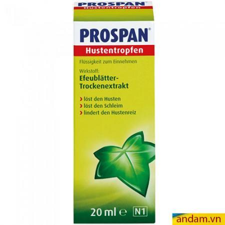 Tinh chất trị ho Prospan Đức 20ml