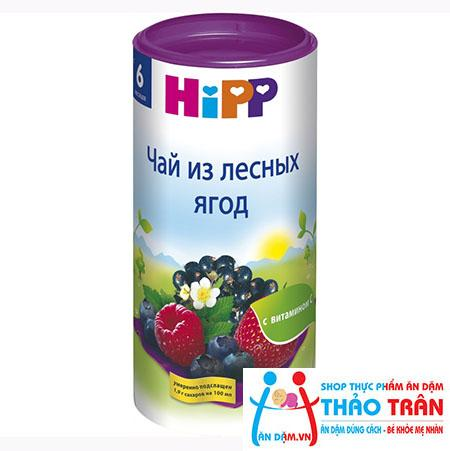 Trà Hipp vị mâm xôi, việt quốc, dâu tây