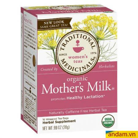 Trà lợi sữa Organic Mother's Milk