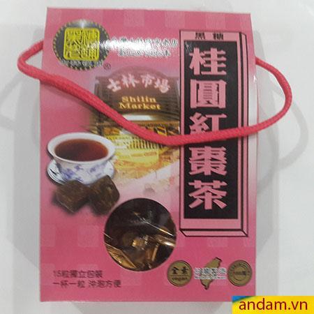 Trà nhãn nhục Đài Loan dạng viên nén
