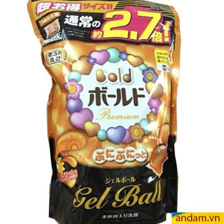Viên giặt xả Gel Ball cam 48 viên