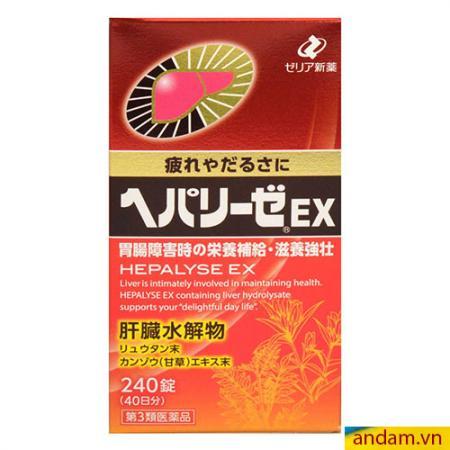 Viên uống giải độc gan Nhật Bản Hepalyse EX 240v