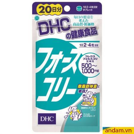 Viên uống giảm cân tan mỡ bụng DHC 80v- Nhật Bản