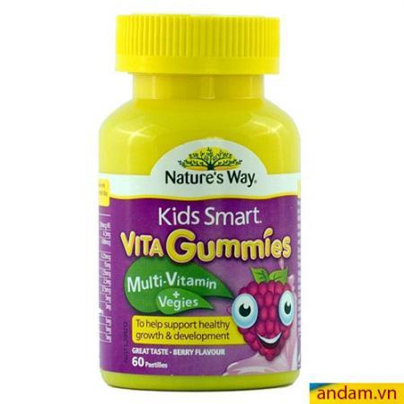 Vita gummies đa vitamin và rau quả cho bé