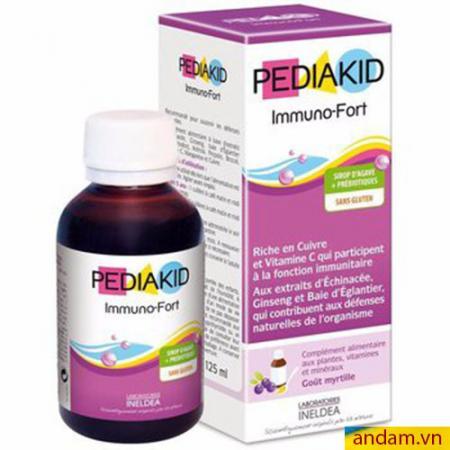 Vitamin Pediakid Immuno-Fort tăng sức đề kháng cho bé