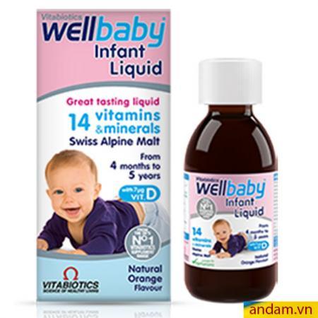 Vitamin tổng hợp bổ Sung 14 vitamin - Infant Liquid