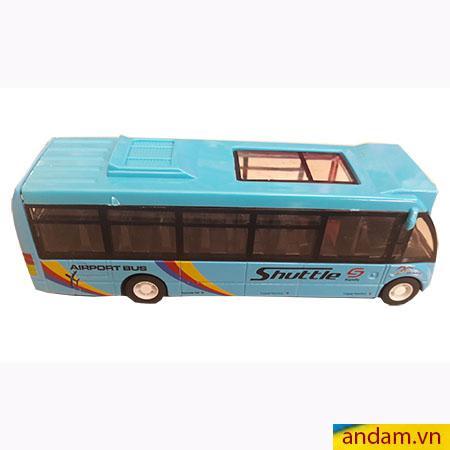 Xe buýt đẩy trớn màu xanh dương