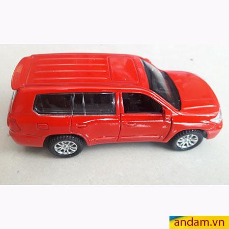 Xe ô tô trớn có đèn và nhạc màu đỏ - 002
