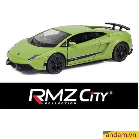 Xe trớn RMZ City màu xanh lá