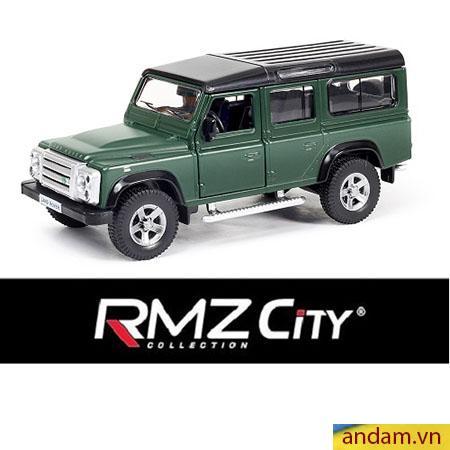 Xe trớn RMZ City màu xanh lục