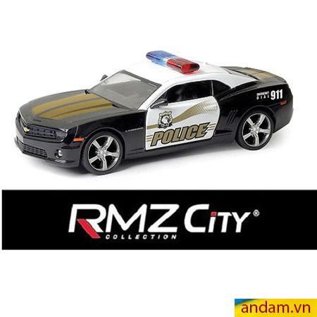 Xe trớn RMZ City Police màu đen